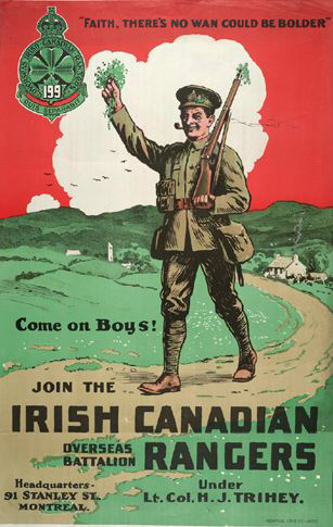 Irish Canadian Rangers poster